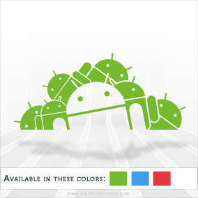 Android Army Decal
