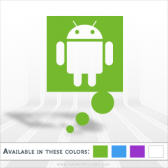 Think Android Vinyl Decal