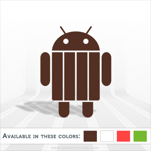 Android KitKat vr.4.4 Vinyl Decal