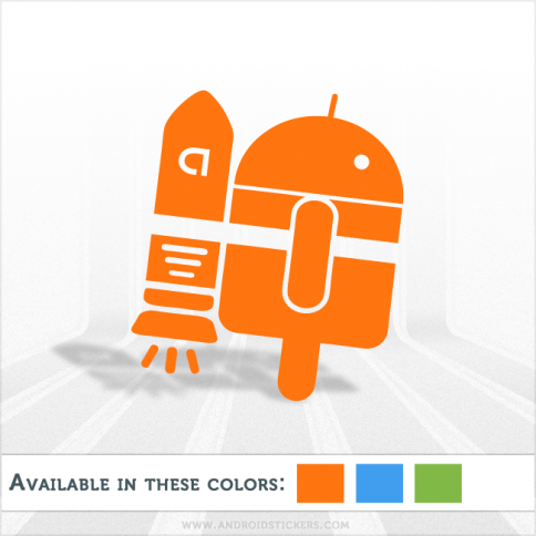 Android Astronaut Decal