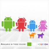 Android Family - Individual Decals