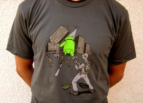 Unstoppable Android (Andy) T-shirt