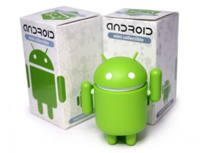 Android Mini Collectibles - Standard Green Toy