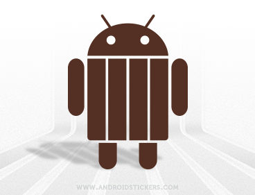 Android KitKat Vinyl Decal