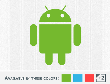 Google's Android OS Logo Decal