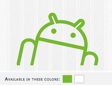 Android Offset Decal